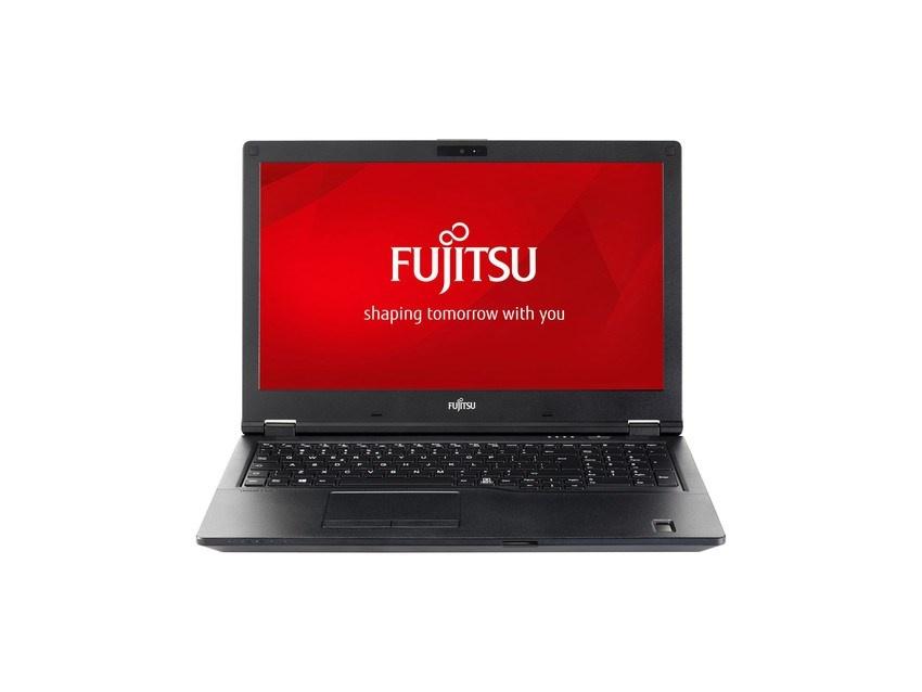 """FUJITSU NTB E458 - 15.6""""mat 1920x1080 i3-7130M@2.7GHz 4GB 500HDD54 TPM DP VGA HDMI FP  USB-C W10PR"""