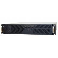 CHIEFTEC skříň Rackmount 2U ATX, UNC-210T-B-U3-OP, Black, bez zdroje