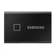 Samsung Externí SSD disk T7 touch - 2 TB - černý