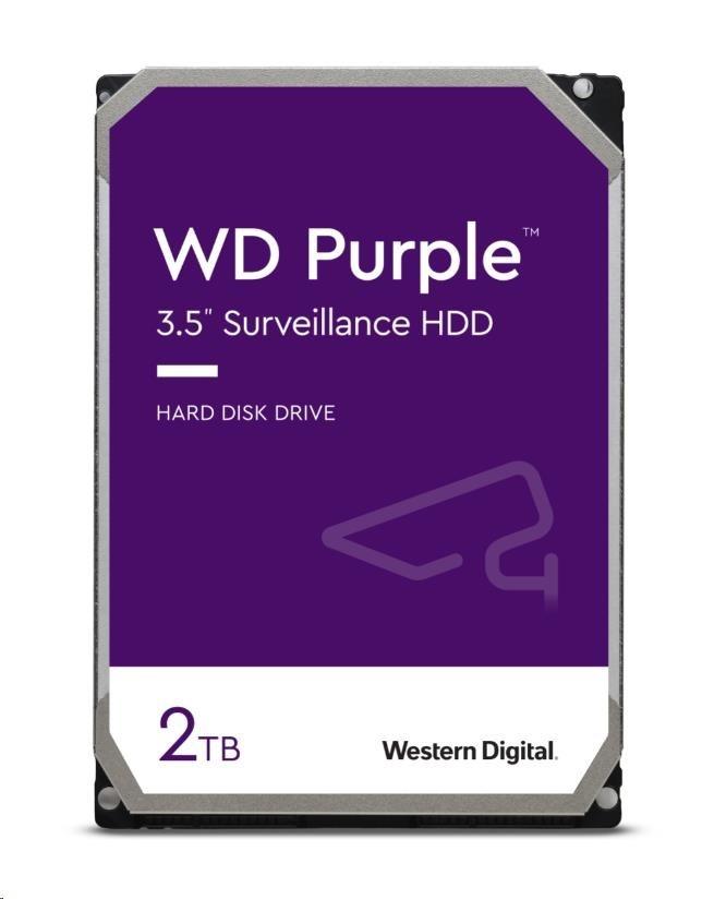 WD PURPLE WD20PURZ 2TB SATA/600 64MB cache, Low Noise