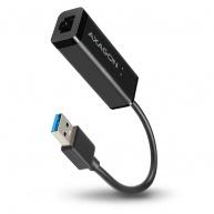 AXAGON ADE-SR, USB3.0 Type-A - externí Gigabit Ethernet adaptér, auto install