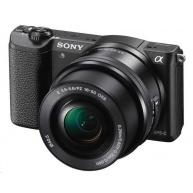 SONY Alpha A5100 +16-50mm - Černý