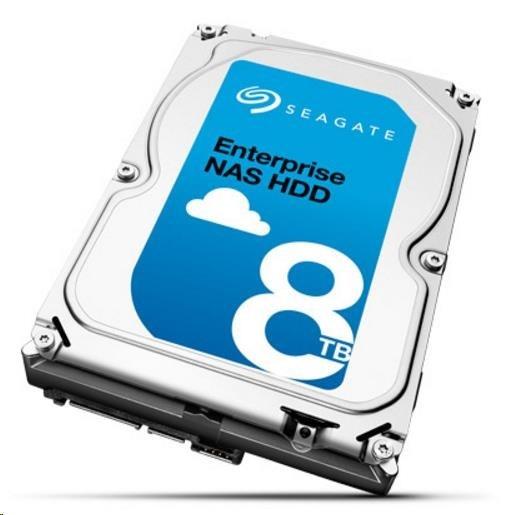 SEAGATE HDD ENTERPRISE NAS 8TB SATAIII/600, 7200rpm, 256MB cache