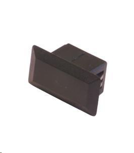 OEM Záslepka plastová do optické vany SC - simplex, černá