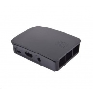 Raspberry Pi oficiální krabička pro Raspberry Pi 3B+, černá/šedá