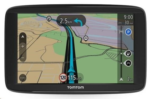 TomTom START 62 Europe (45 zemí) LIFETIME mapy