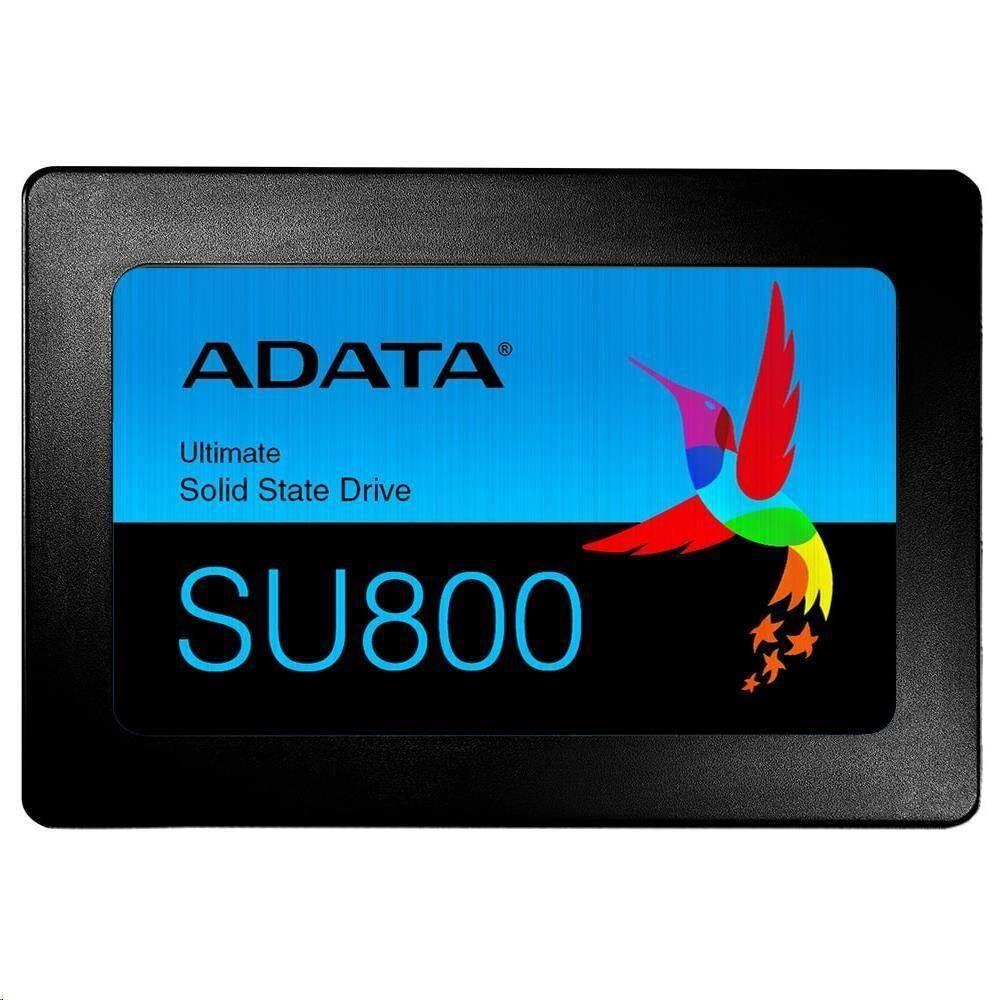 """ADATA SSD 512GB SU800 2,5"""" SATA III 6Gb/s (R:560, W:520MB/s) 7mm (3 letá záruka)"""