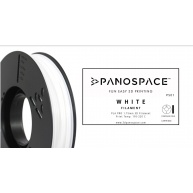 FILAMENT Panospace type: PLA -- 1,75mm, 750 gram per roll - Bílá