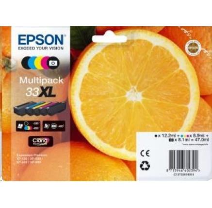 EPSON ink Multipack 5-colours 33XL Claria Premium Ink