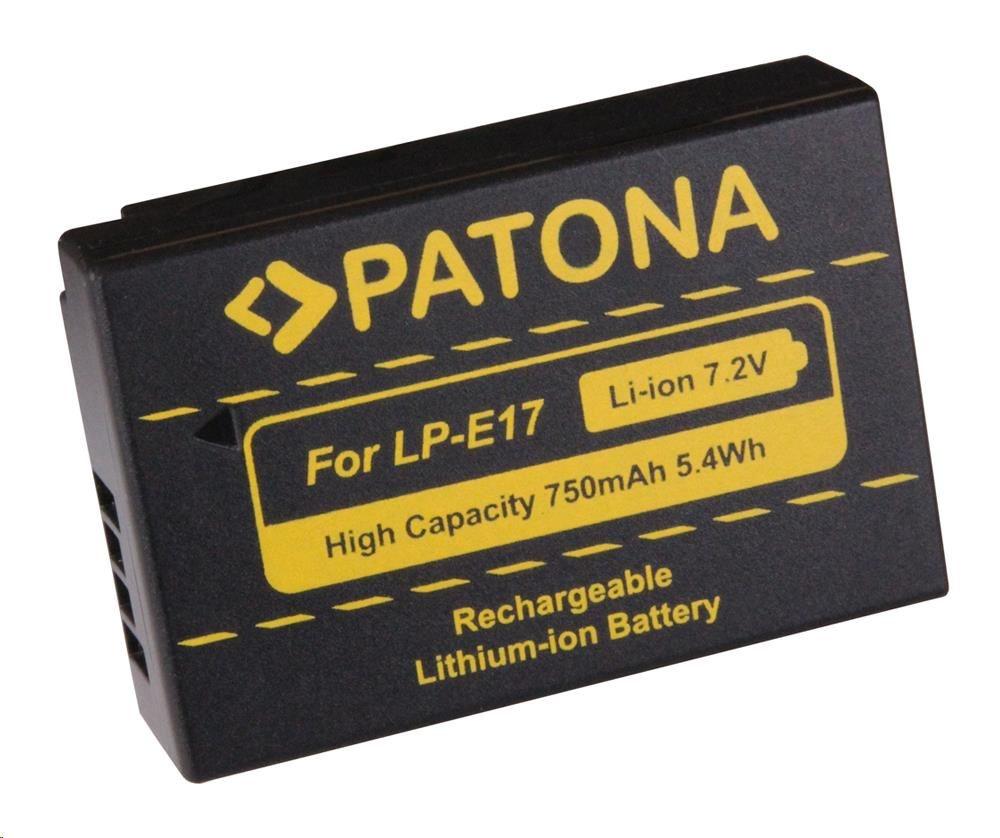 Patona fotobaterie pro CANON LP-E17 750MAH LI-ION