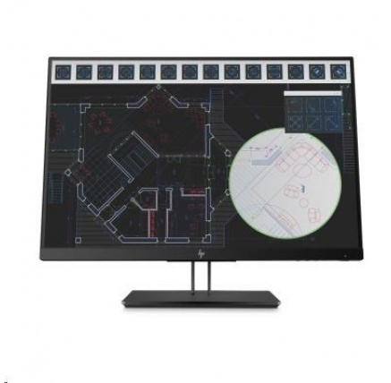 "HP LCD Z24i G2 Monitor 24"" wide (1920x1200), IPS, 5ms, 16:10, 300nits, 1000:1, VGA, DisplayPort, HDMI, 3xUSB3.0)"