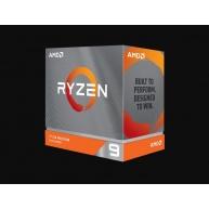 CPU AMD RYZEN 9 3900XT, 12-core, 3.8 GHz (4.7 GHz Turbo), 70MB cache (6+64), 105W, socket AM4, bez chladiče