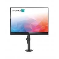 CONNECT IT SingleArm stolní držák na 1 monitor, ČERNÝ