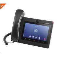 "Grandstream GXV3370 [IP video-telefon s Androidem 7.0, PoE+, WiFi, 7"" dotykové LCD, mini HDMI, SD card slot, USB]"