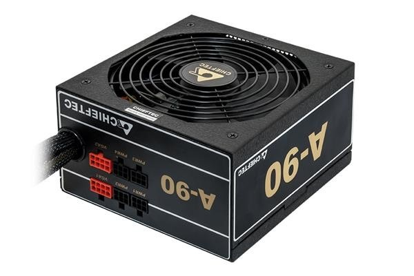 CHIEFTEC zdroj A90 Series, GDP-650C, 650W, ATX-12V V.2.3/EPS-12V, PS-2, 14cm fan, >90%