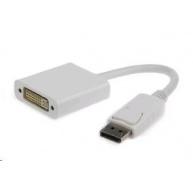 GEMBIRD Redukce DisplayPort - DVI (M/F) bílá