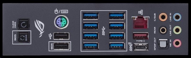 ASUS MB Sc AM4 ROG CROSSHAIR VII HERO, AMD X470, 4xDDR4