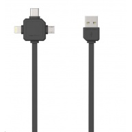 Allocacoc USBcable USB-C Black