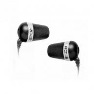 KOSS sluchátka THE PLUG černá, sluchátka do uší,  bez kódu
