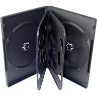 OEM Krabička na 6 DVD 24mm černá