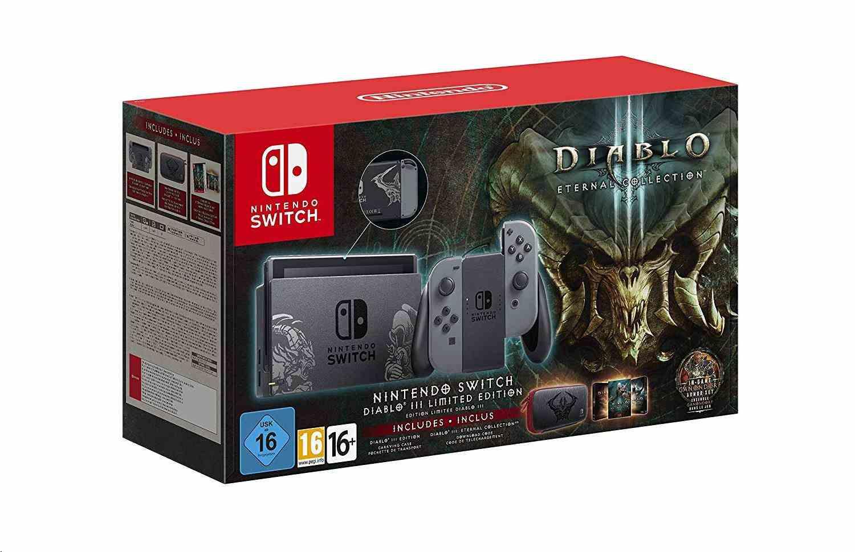 Nintendo Switch - Diablo III Limited Edition