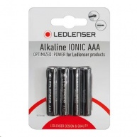 LEDLENSER 4xAAA alkalické baterie - Blister
