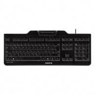CHERRY klávesnice se čtečkou karet KC 1000 SC/ USB/ ISO 7816 podporované karty/ černá/ EU layout