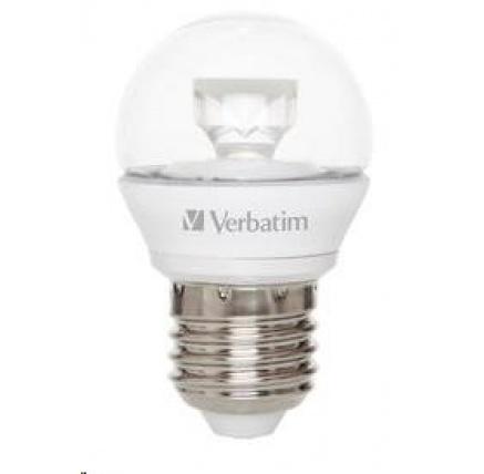 VERBATIM LED žárovka,LED Mini Globe E27 5W 2700K WW 350LM Clear