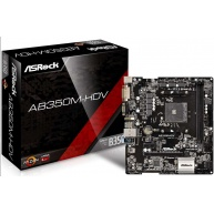 ASRock MB Sc AM4 AB350M-HDV R4.0, AMD AB350, 2xDDR4, VGA, mATX