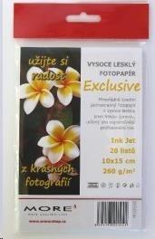 ARMOR MORE Fotopapír Harmony 240g,10x15 glossy, 20listů, photo 10x15cm