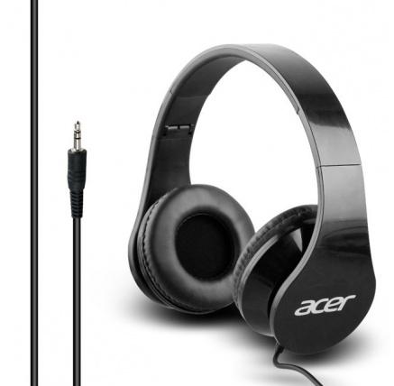 Acer Over-Ear Headphones Black, retail box