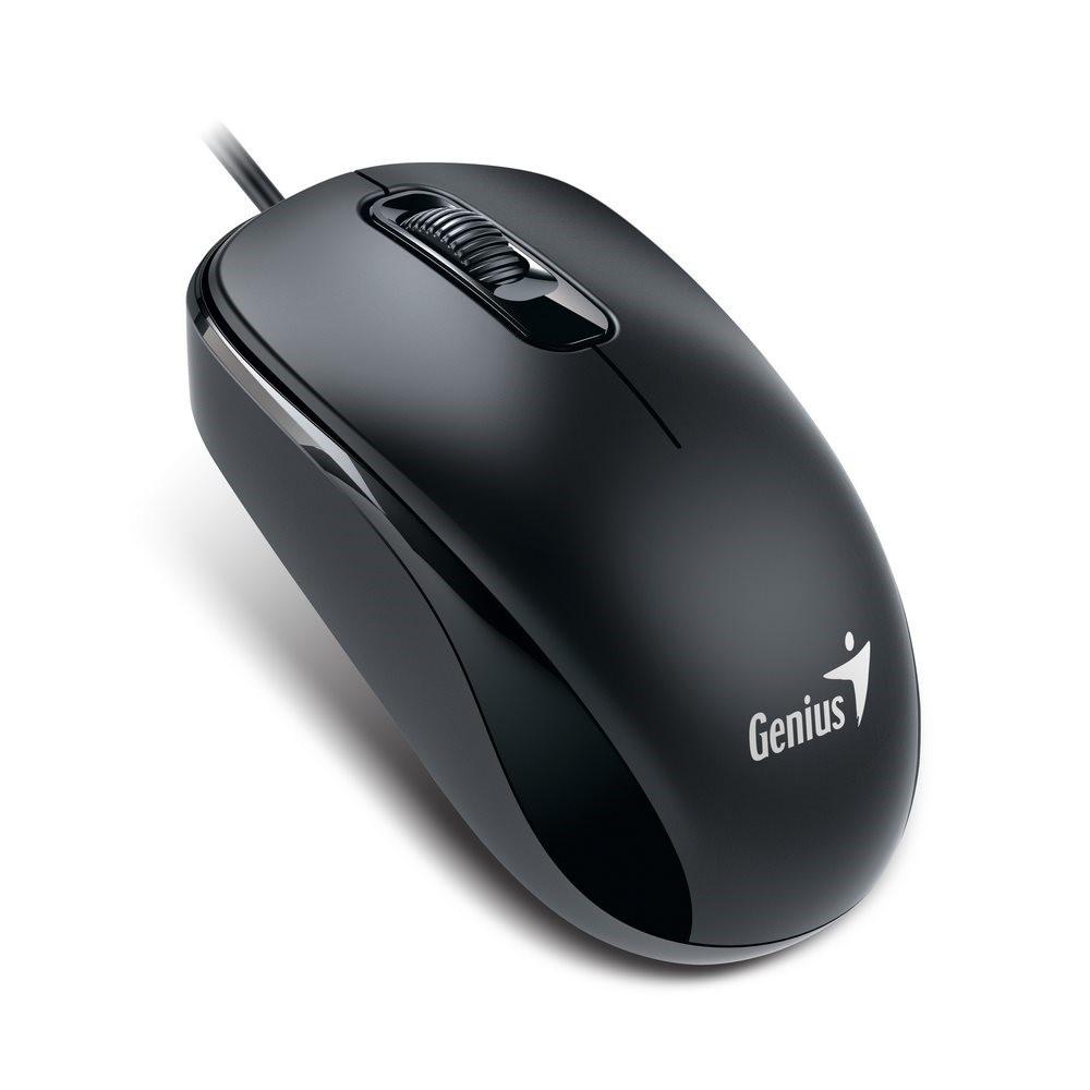 GENIUS myš DX-110, drátová, 1000 dpi, PS/2, černá