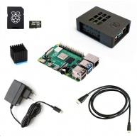 Raspberry Sada Zonepi Pi 4B/1GB, (SDHC karta 32GB + adaptér, Pi4 Model B, krabička, chladič, HDMI kabel, napájecí zdroj)
