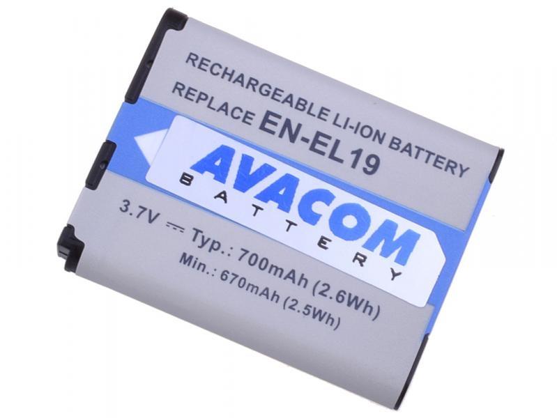 AVACOM Nikon EN-EL19 Li-ion 3.7V 620mAh 2.3Wh