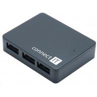 CONNECT IT USB 3.0 hub SWIFT se 4 porty