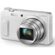 "Panasonic DMC-TZ57 white (16 Mpx MOS, 20x zoom, 3"" vyklop. LCD, Wi-Fi)"
