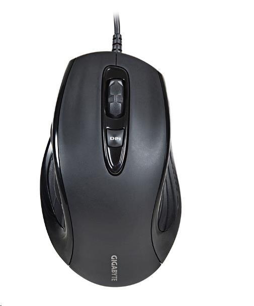 GIGABYTE Myš Mouse M6880X, USB, Laser, 800/1200/1600 DPI