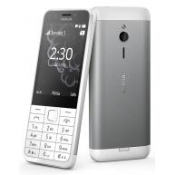 Nokia 230, White Silver