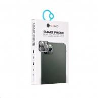 COTEetCI sklo na fotoaparát pro Apple iPhone 11 Pro / Pro Max stříbrné