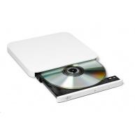 HITACHI LG - externí mechanika DVD-W/CD-RW/DVD±R/±RW/RAM/M-DISC GP90NW70, Ultra Slim, White, box+SW