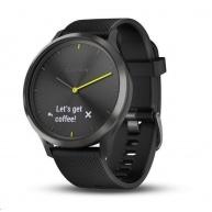 Garmin monitorovací náramek a hodinky vívomove Optic Sport Black (velikost L)