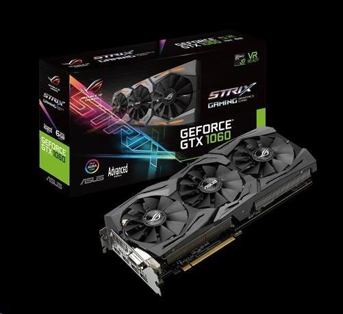 ASUS VGA NVIDIA STRIX-GTX1060-A6G-GAMING