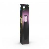 PHILIPS Impress Venkovní sloupek, White and Color Ambience, 8W integr.LED, Antracit