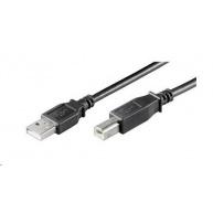 PREMIUMCORD Kabel USB 2.0 A-B propojovací 3m