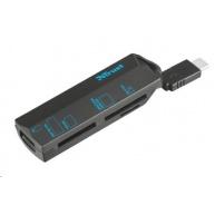 TRUST Čtečka paměťových karet, USB Type-C