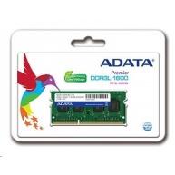 SODIMM DDR3L 8GB 1600MHz CL11 ADATA Premier memory, 512x8, Single