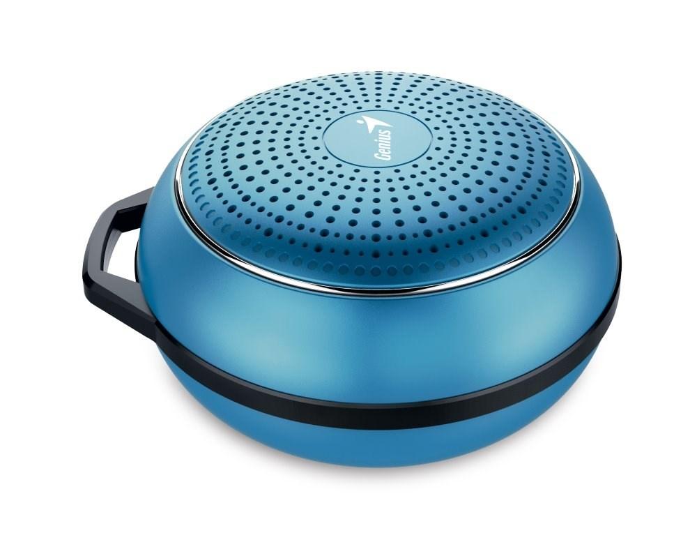 GENIUS repro SP-906BT Plus M2/ 3W/ Bluetooth 4.1/ dobíjecí/ metalická modrá