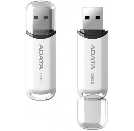 ADATA Flash Disk 32GB C906, USB 2.0 Classic, bílá