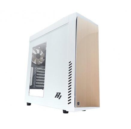 ZALMAN R1 WHITE - skříň mATX/ATX, průhledný bok, bez zdroje, USB3.0, bílá