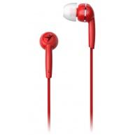 GENIUS sluchátka s mikrofonem HS-M320, červená